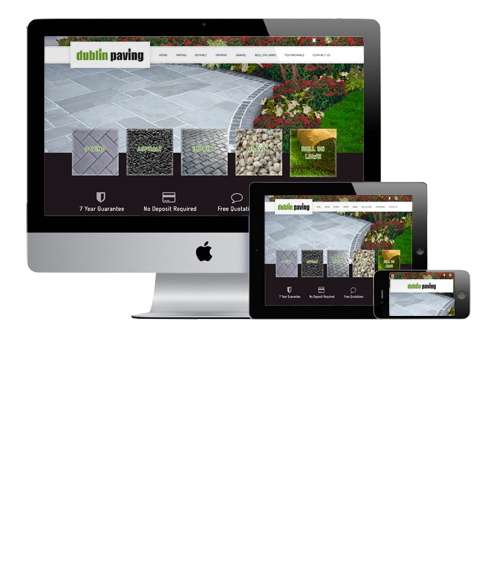 Website Design Dublin Paving